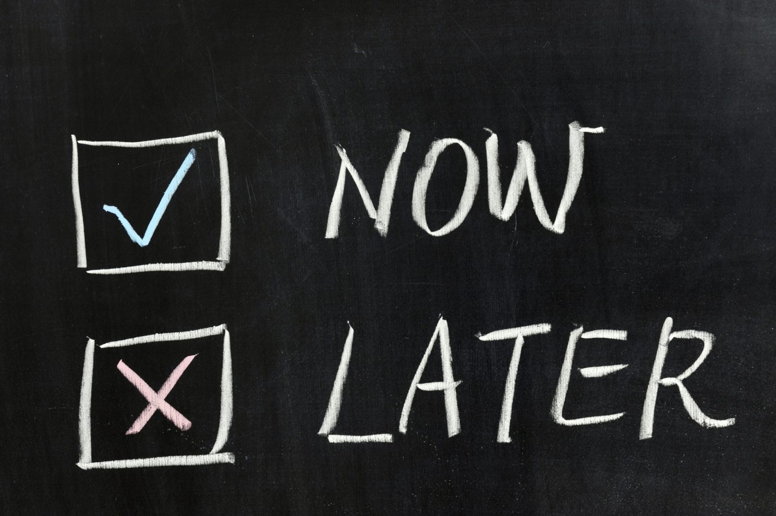 Don't procrastinate – Chabad Intown Atlanta